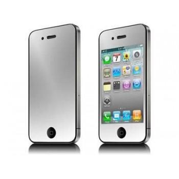 Film miroir de protection avant et arrière pour iphone 4 et 4s