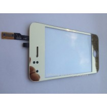 Vitre face avant tactile or gold iphone 3gs