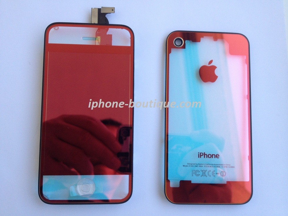 coque transparente iphone 6 rouge