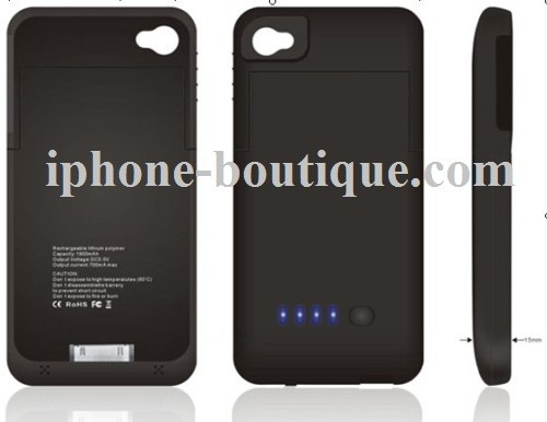 iphone 4 batterie coque