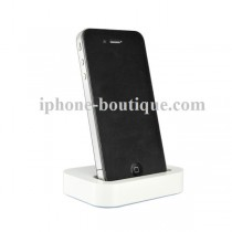 Dock blanc pour iphone 3g 3gs 4 4s et ipod