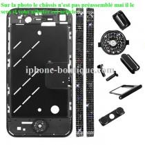Châssis noir incrustés de pièrres complet déja prémonté iphone 4